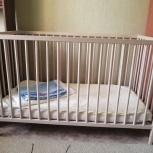 Продам детскую кроватку в отличном состоянии, Новосибирск