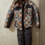 Детский (мальчиковый), зимний пуховик-тройка, Новосибирск
