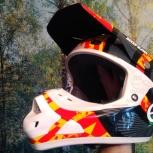 Продается мотокроссовый шлем No Fear, Новосибирск