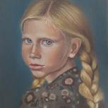Портреты, картины на заказ, в разной технике. Авторская кукла, Новосибирск