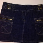 Продам джинсовую короткую юбку, Новосибирск