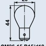 Лампочка СМ-26-15, Новосибирск