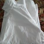 Рубашки школьные, белые, 3шт. Рост 158, Новосибирск