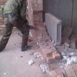 Демонтаж домов, стен, напольных покрытий, Новосибирск