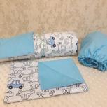 Комплект постельного белья в кроватку, борттки, Новосибирск