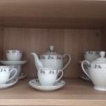 Чайный сервиз китайский 6 пар + заварник,сахарница, Новосибирск