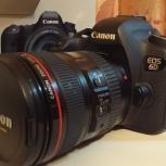 Продам фотоаппарат canon 6d + объектив canon ef 24-105mm, Новосибирск