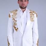 Смокинг, костюм с восточным орнаментом прокат, Новосибирск