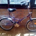 Продам складной велосипед Novatrack б/у для подростка, Новосибирск