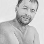 Рисую шаржи, портреты по фото на заказ, любого размера, Новосибирск