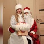Визит Деда Мороза и Снегурочки, Новосибирск