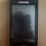 Samsung Wave 525 GT-S5250, чёрный, Новосибирск