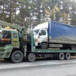 Эвакуатор. Перевозка трактора, бульдозера, экскаватора, погрузчика., Новосибирск