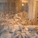 Демонтаж стен, перегородок. Вывоз мусора, Новосибирск