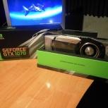Видеокарта Nvidia GTX Geforce 1070, идеальное состояние. Гарантия!, Новосибирск