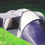 Палатка 6 местная новая с тамбуром на три семьи, Новосибирск