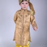 Яркие детские индийские костюмы для мальчиков напрокат, Новосибирск