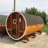Баня бочка из Алтайского кедра, Новосибирск