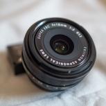 объектив Fujifilm XF 18/2 R, Новосибирск