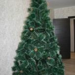 Искусственная елка (сосна пушиста) - 240 см + гирлянда, Новосибирск