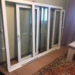 Продам окно пластиковое три створки б/у, Новосибирск