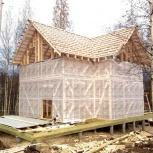 Строительство каркасных домов, дань из бруса, заборы, Новосибирск