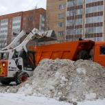 Комплексная уборка снега, Новосибирск
