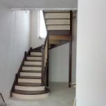 Лестницы деревянные для дома и дачи, Новосибирск