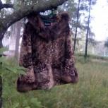 Продам коричневый женский полушубок,новый., Новосибирск