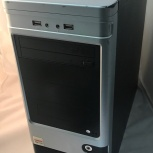 Компьютер Intel Core2Duo/4/GF + LCD монитор, Новосибирск