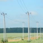Установка опор ЛЭП, монтаж воздушных линий электропередачи, Новосибирск