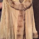 Двухсторонняя шуба- пальто Braschi (Италия), Новосибирск