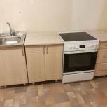 Кухонный гарнитур шириной 210 см (с местом под плиту), Новосибирск