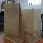 Пакеты бумажные для подарков (крафт), Новосибирск
