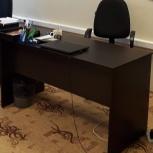 Продам 3 офисных стола цвета венге в отличном состоянии, Новосибирск