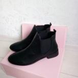 ботинки женские черные ч е  л с и, Новосибирск