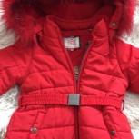 Продам красивое красное пальто, Новосибирск