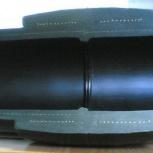 Сварка, пайка полиэтиленовой трубы встык или электромуфтой, Новосибирск