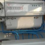 Электротехнические работы. Прокладка кабеля Освещение, люстры, плафоны, Новосибирск