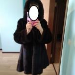 Продам шикарную норковую шубу с капюшоном в идеальном состоянии, Новосибирск