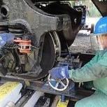 Мобильный колесотокарный станок для обточки колесных пар 1АК200, Новосибирск
