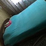 Отличная двухспальная кровать ищет нового хозяина, Новосибирск