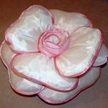 Декоративная подушка-роза, Новосибирск
