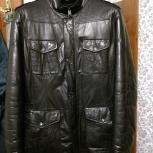 Куртка зимняя из натуральной кожи, Новосибирск