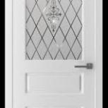 Межкомнатные двери Честер белая эмаль ВФД, Новосибирск