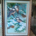 Продам картину бисером, Новосибирск