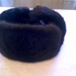Зимние шапки-ушанки из сурка и мутона, Новосибирск