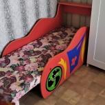 Продам детскую кроватку -машинку, Новосибирск