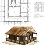 Проектирование коттеджей, частных домов, дач, Новосибирск