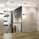 Дизайн интерьера, перепланировка квартиры, Новосибирск